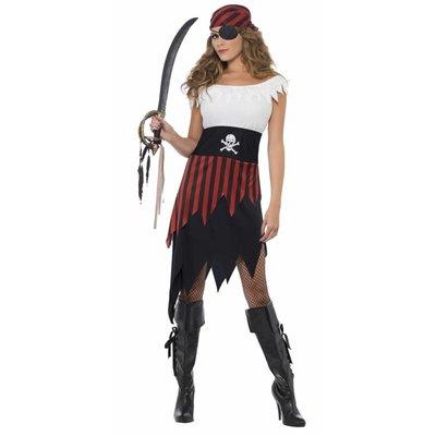 Vrouwelijke Pirate Met Bandana