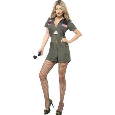 Top Gun Dames Kostuum