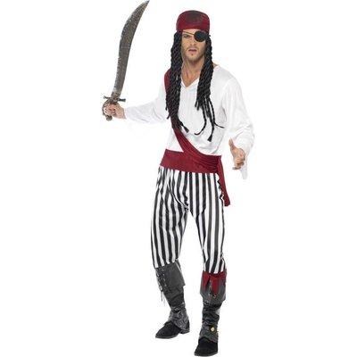 Piraten Kostuum Wit