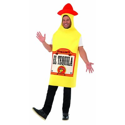Fles Tequila Kostuum