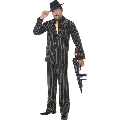 Gangster Kostuum Met Krijtstreep