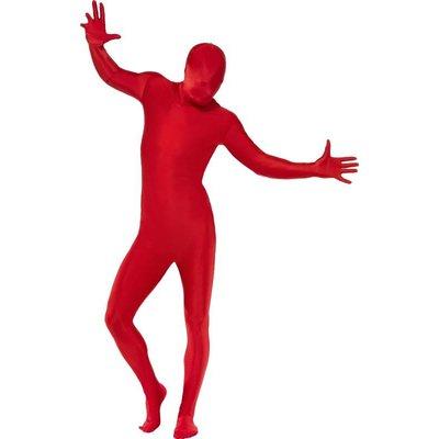 Second Skin kostuum - rood
