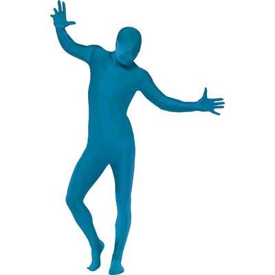 Second Skin Kostuum - blauw