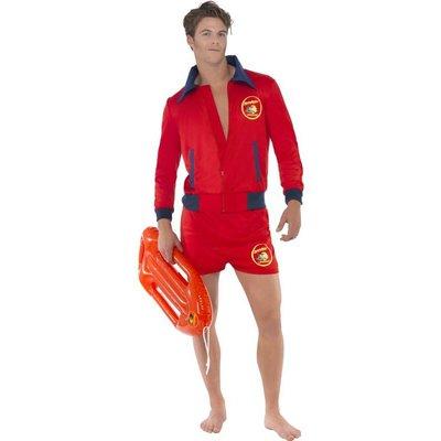 Baywatch Kostuum Rood Heren