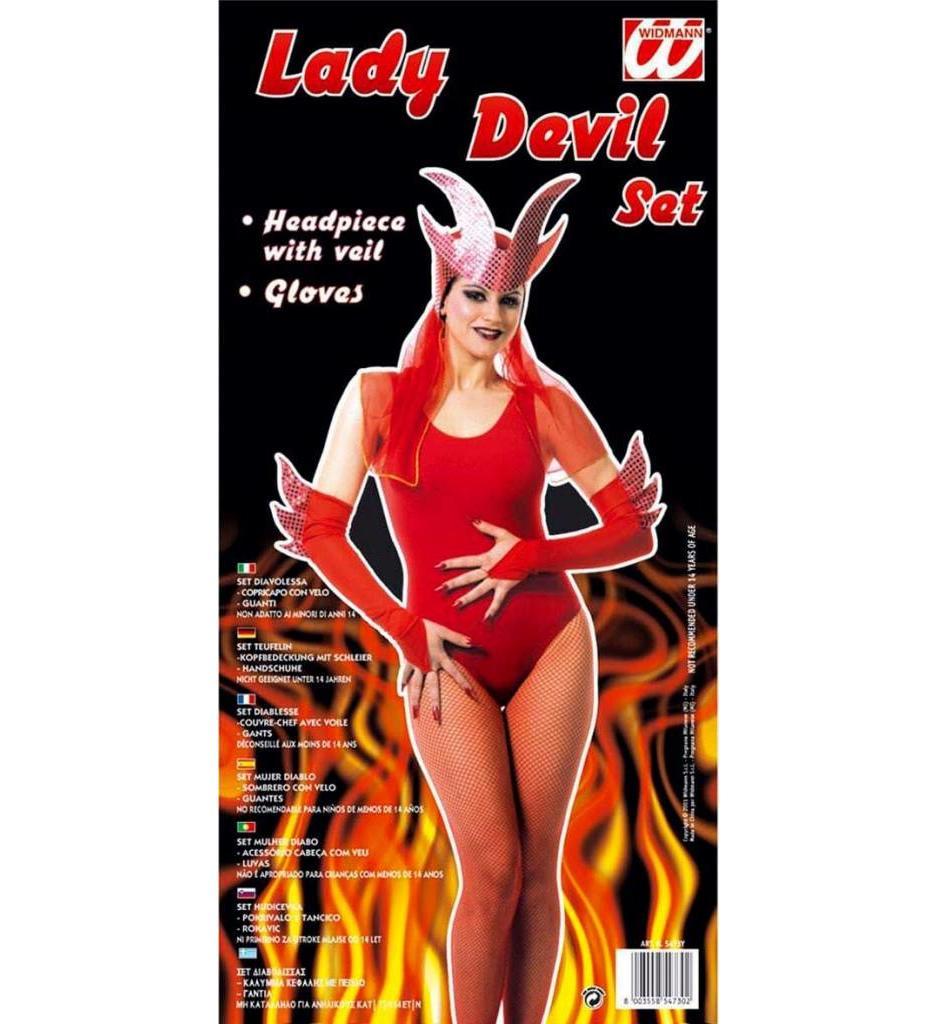 """Set """"Lady Devil"""""""