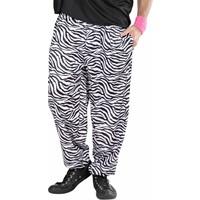 Widmann Baggy Broek 80'S Zebra