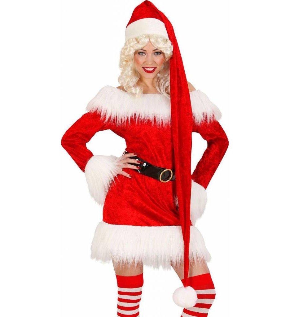 Kerstmanmuts Extra Lang 150Cm