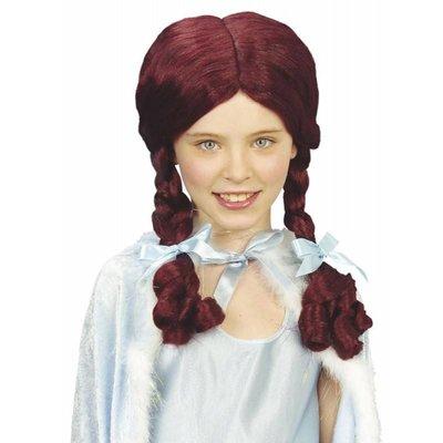 Pruik Alice Met Staart Kind (In Plastic Doos)