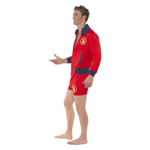 Smiffys Baywatch Kostuum Rood