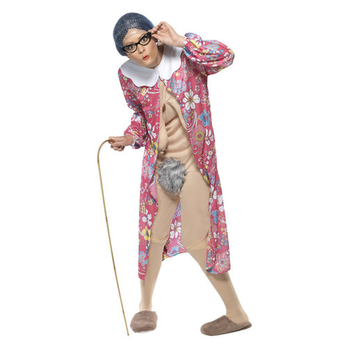 Smiffys Oma Naakt Kostuum