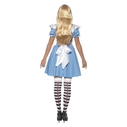 Smiffys Alice In Wonderland Blauwe Jurk