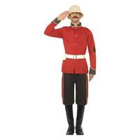 Smiffys Boerenoorlog Militair Kostuum - Rood