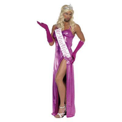 Mr Miss World Kostuum - Roze