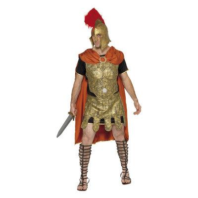 Deluxe Romeinse Soldaat Kostuum - Goud