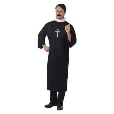 Priester Kostuum - Zwart