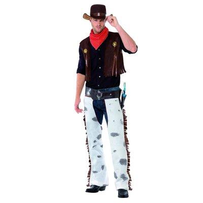 Cowboy Kostuum - Bruin