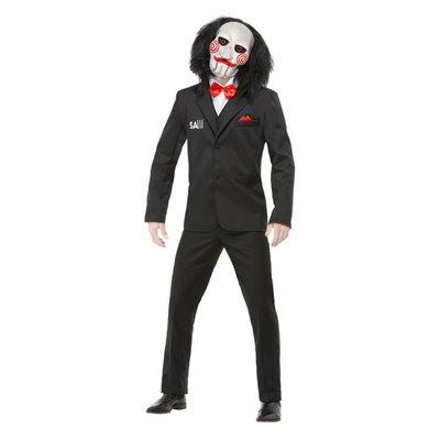 Saw Billy Kostuum - Zwart