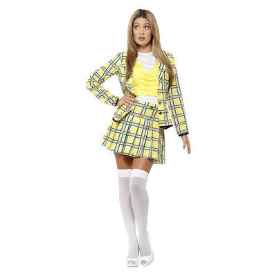 Clueless Cher Kostuum - Geel