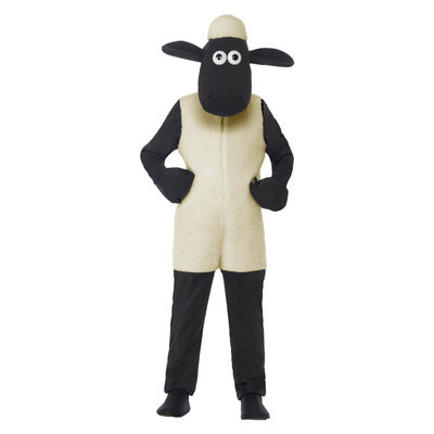 Shaun Het Schaap Kinderen Kostuum - Wit