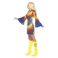 Smiffys 1960 Tie Dye Kostuum - Psychedelische