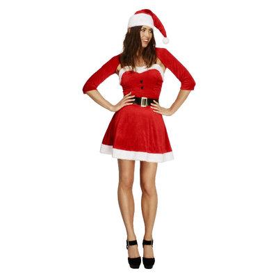 Fever Kerst Babe Kostuum - Rood