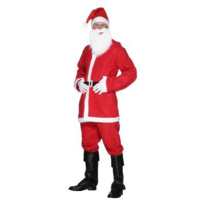 Kerstman Kostuum - Rood