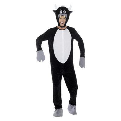Deluxe Stier Kostuum  - Zwart