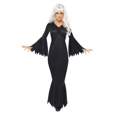 Middernacht Vamp Kostuum - Zwart
