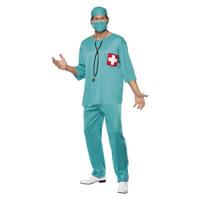 Chirurg Kostuum - Groen
