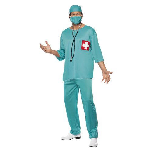 Smiffys Chirurg Kostuum - Groen
