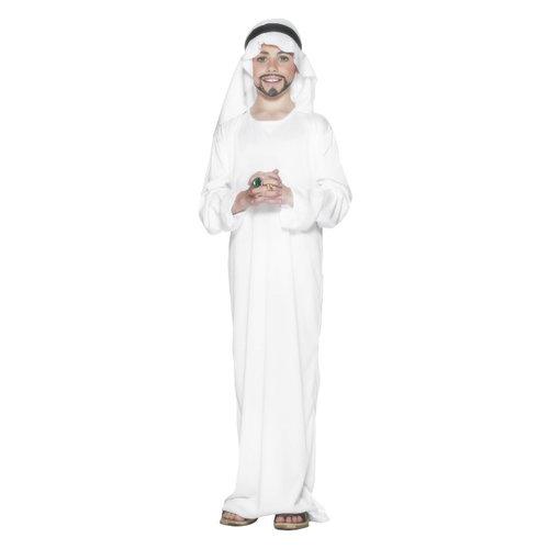 Smiffys Arabisch Kostuum - Wit