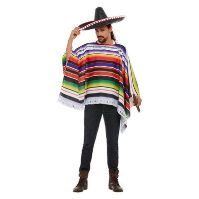 Poncho - Multi-gekleurd