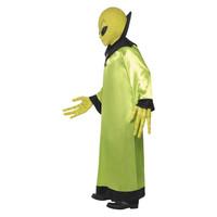 Smiffys Alien Lord Kostuum - Groen