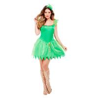 Smiffys Bosfee Kostuum - Groen