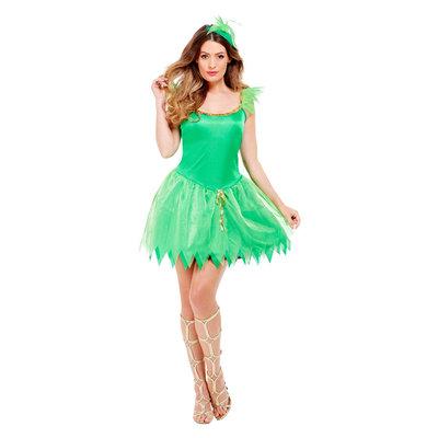 Bosfee Kostuum - Groen