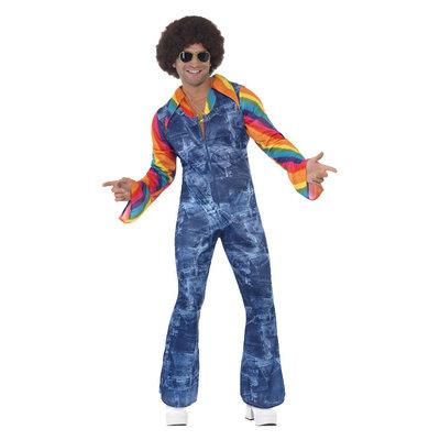 Groovier Danser Kostuum - Blauw