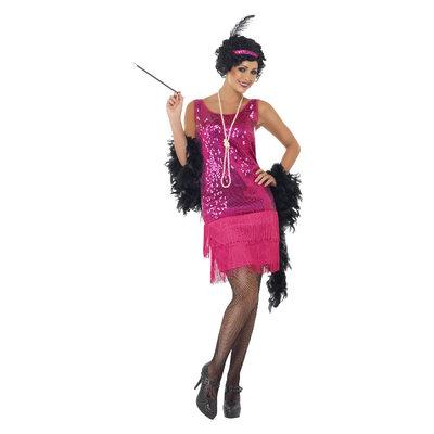 Funtime Flapper Kostuum -  Roze