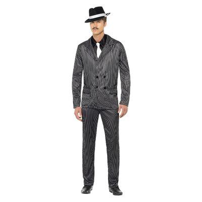 Gangster Kostuum - Zwart
