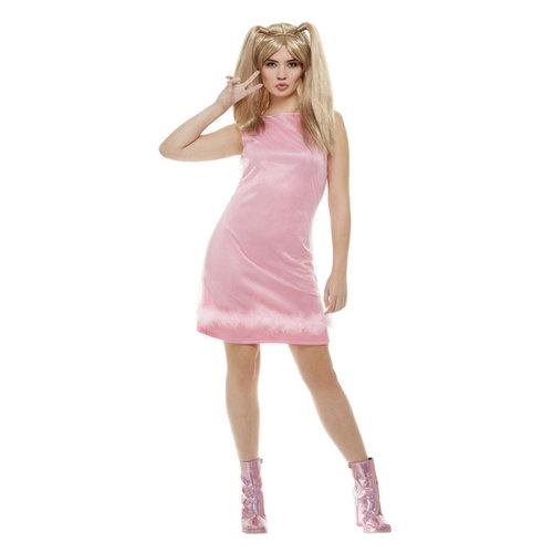 Smiffys Baby Power - 90's Icoon Kostuum - Roze