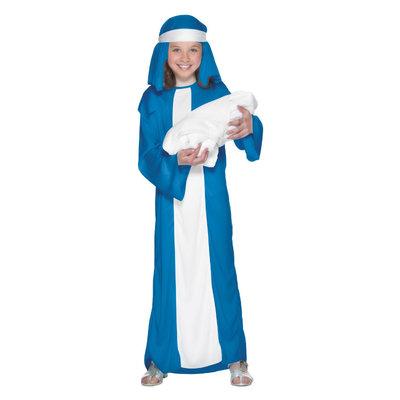 Mary Kind Kostuum - Blauw