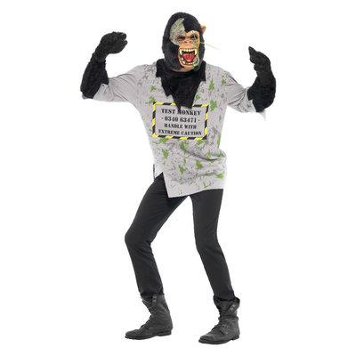 Mutant Aap Kostuum - Zwart