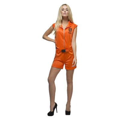Fever Veroordeelde Koningin Kostuum - Oranje