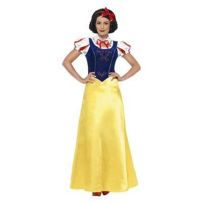 Prinses Sneeuw Kostuum - Geel