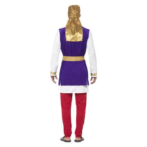 Smiffys Arabische Prins Kostuum - Veelkleurig