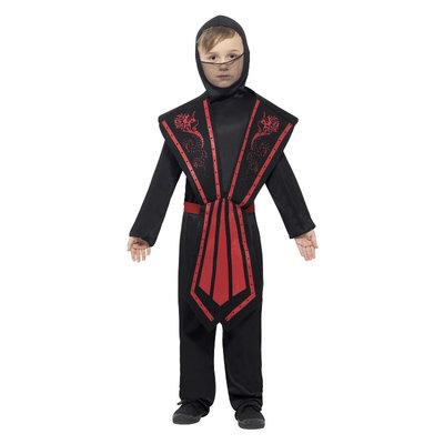 Ninja Kostuum - Kind - Zwart