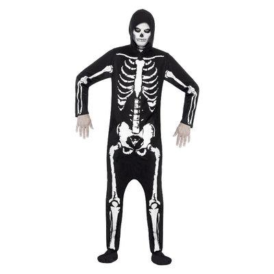 Skelet Kostuum - Zwart