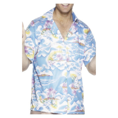 Hawaiiaans Shirt - Blauwe