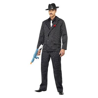 Zoot Suit Gangster Kostuum  - Zwart
