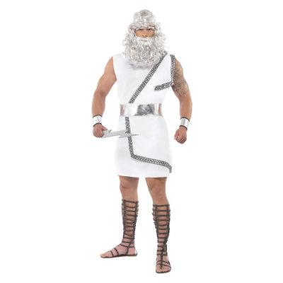 Zeus Kostuum - Wit