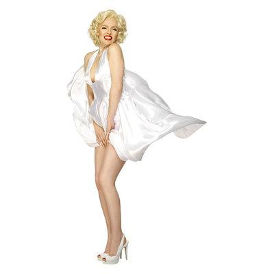 Marilyn Monroe Klassieke Kostuum - Wit